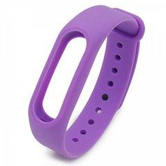 Цветные ремешки Mi Band 2 фиолетовый